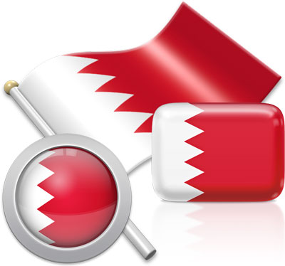 Bahraini flag icons pictures collection