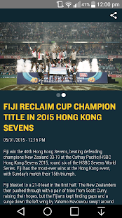 Cathay Pacific / HSBC HKSevens- screenshot thumbnail