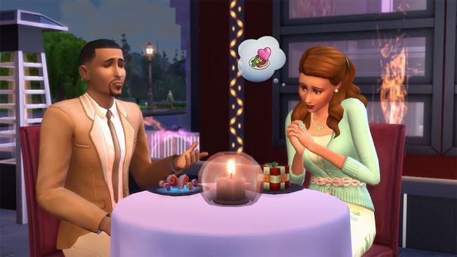 De Sims 4 Uit Eten collectie experimentele gerechten