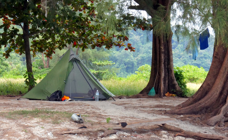 Unser Zelt auf den Perhentian Islands