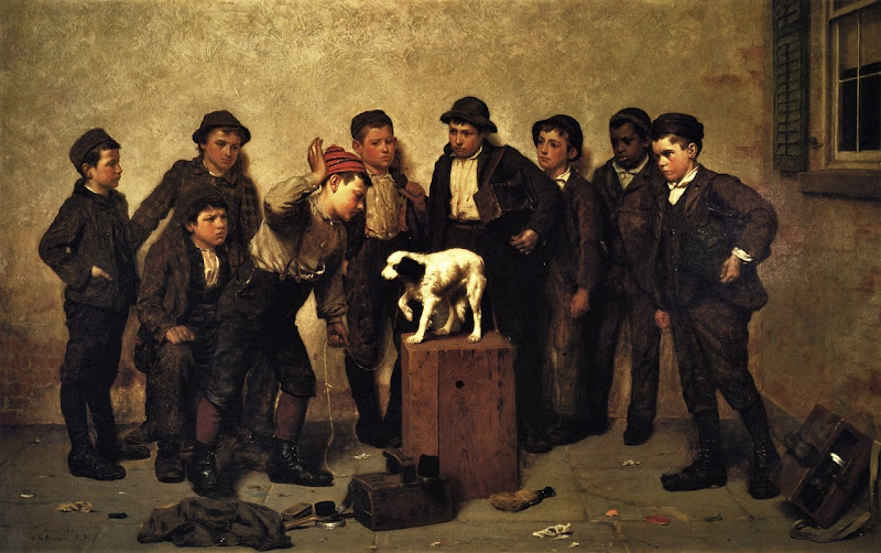 John George Brown - Teaching Tricks