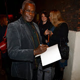 WWW.ENTSIMAGES.COM -  Rudolph Walker  leaving     Much Ado About Nothing at Old Vic September 19th 2013                         Photo Mobis Photos/OIC 0203 174 1069