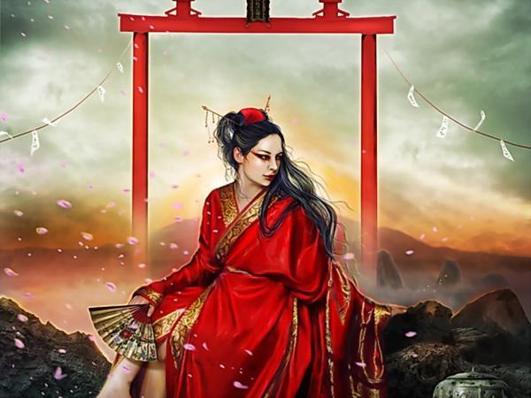 Cool Goddess From Underworld, Dark Goddess