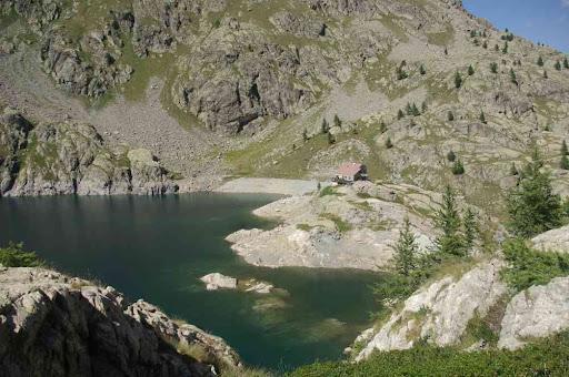Le lac Vert : refuge en vue !