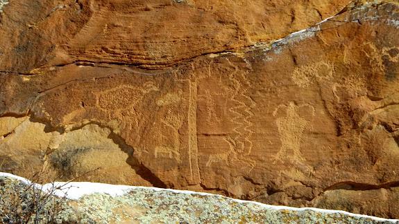 First Site petroglyphs