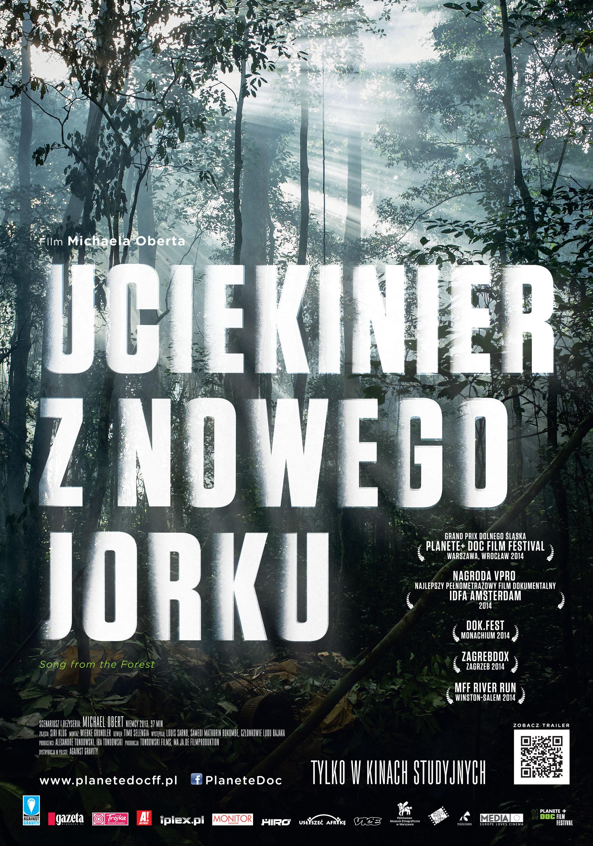 Polski plakat filmu 'Uciekinier Z Nowego Jorku'