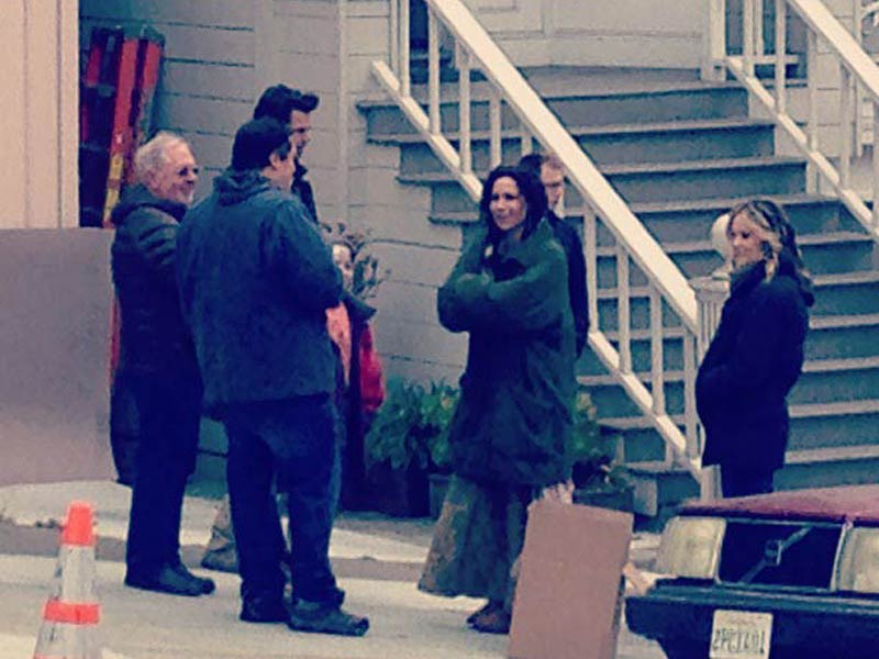 Minnie Driver Spotted in NoPa Filming TV Pilot