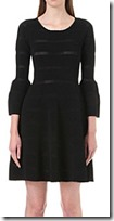 Sandro Carmen knitted dress