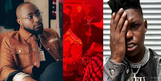 "'I Warn You Say No Chop For Club"" — Singer, Davido Mocks American Rapper, Yung-Bleu"