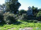 קיר המצודה - מבט מבפנים דרומה