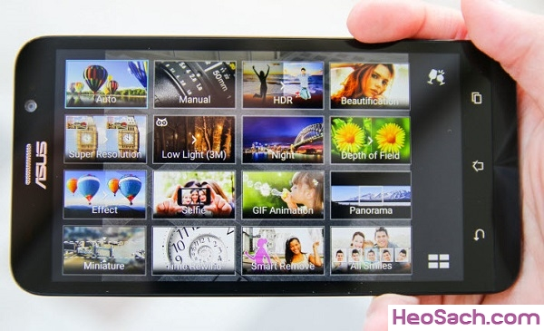 Hình 5 - Hướng dẫn chụp màn hình Asus Zenfone 2, 4, 5