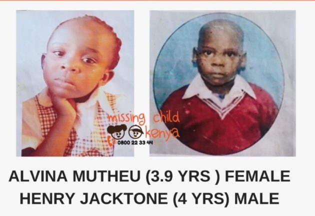 The kids who reported missing the found at a police station dumped.