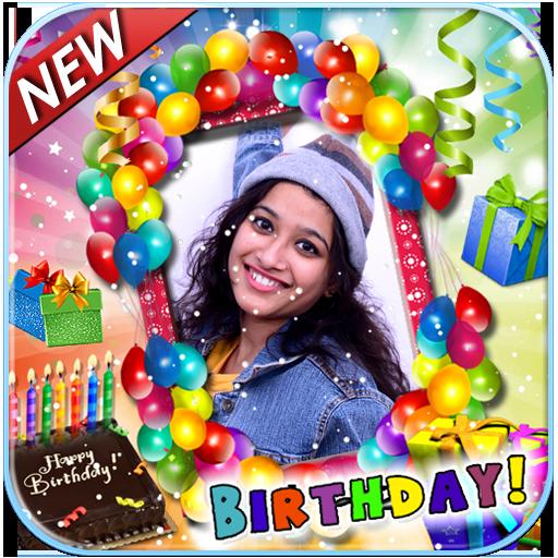 birthday frame photo editor free download