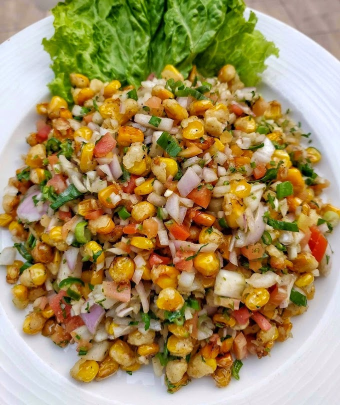 Crispy Corn Salad Recipe | Breakfast Care