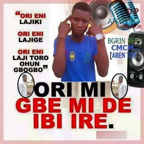 [Music] Ori MI Gbe Mi De'bi Re - B Grin
