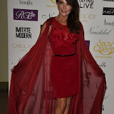 OIC - ENTSIMAGES.COM - Lizzie Cundy at the   Nina Naustdal - catwalk show  as Oslo born designer exhibits her aw 2015 couture - ss 2016 and childrens wear collections in collaboration with MTV Staying Alive Foundation in London 27th September 2015 Photo Mobis Photos/OIC 0203 174 1069