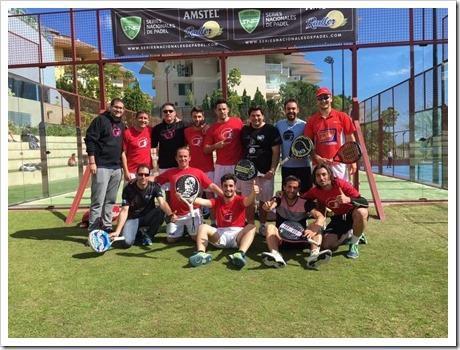 El Club de Pádel Beok de Granada se clasifica para la Fase Final de las Series Nacionales en Madrid.