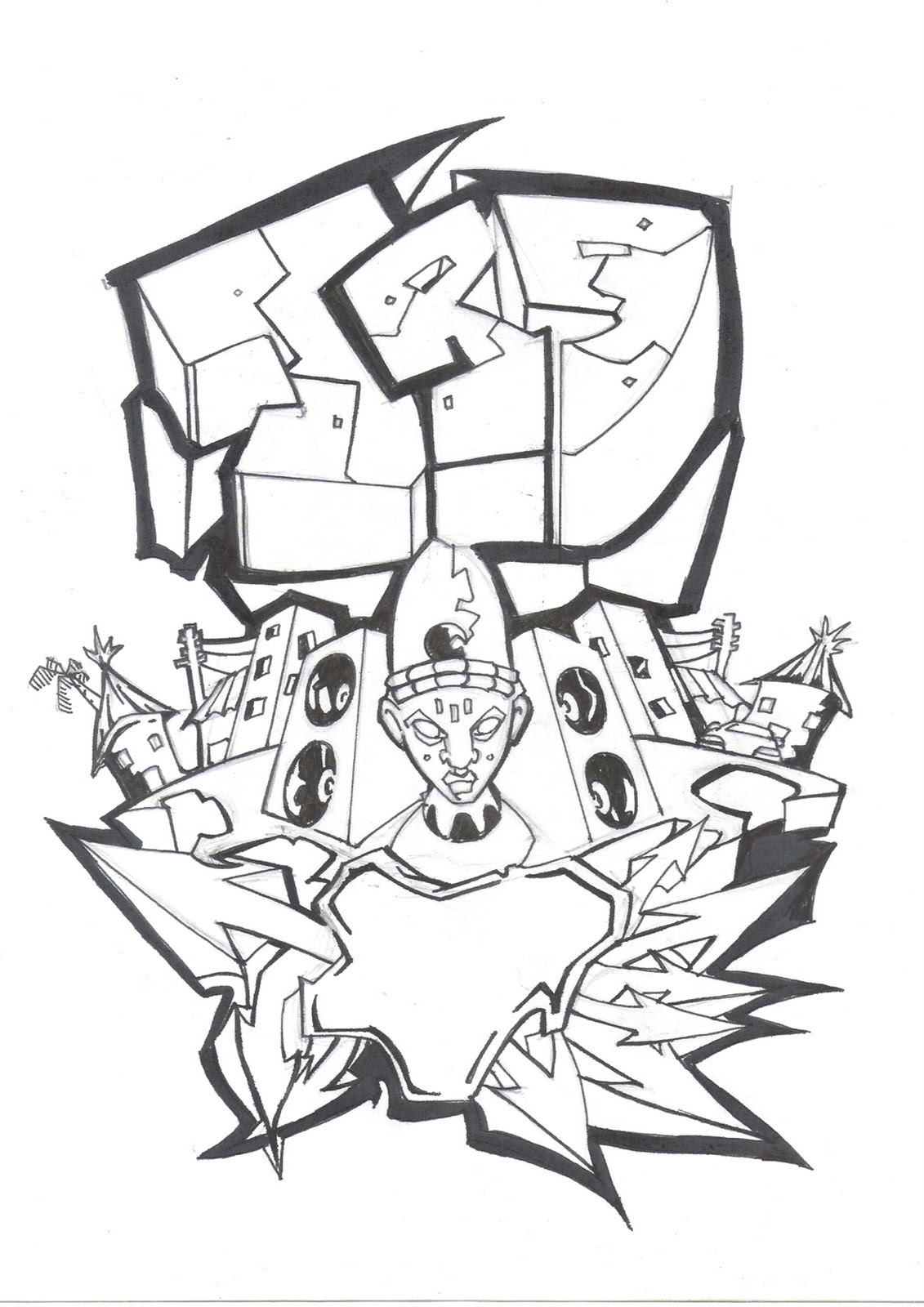 graffiti coloring pages names - free coloring pages of graffiti names