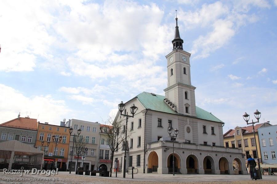 Ratusz na rynku w Gliwicach