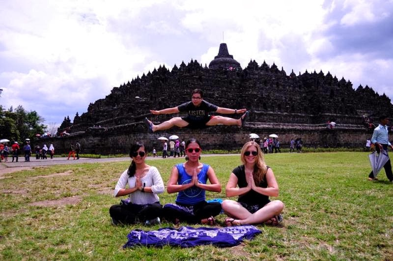 Cheers for Borobudur