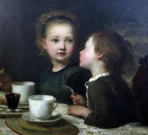 Karl Wilhelm Friedrich Bauerle - Table Gossip