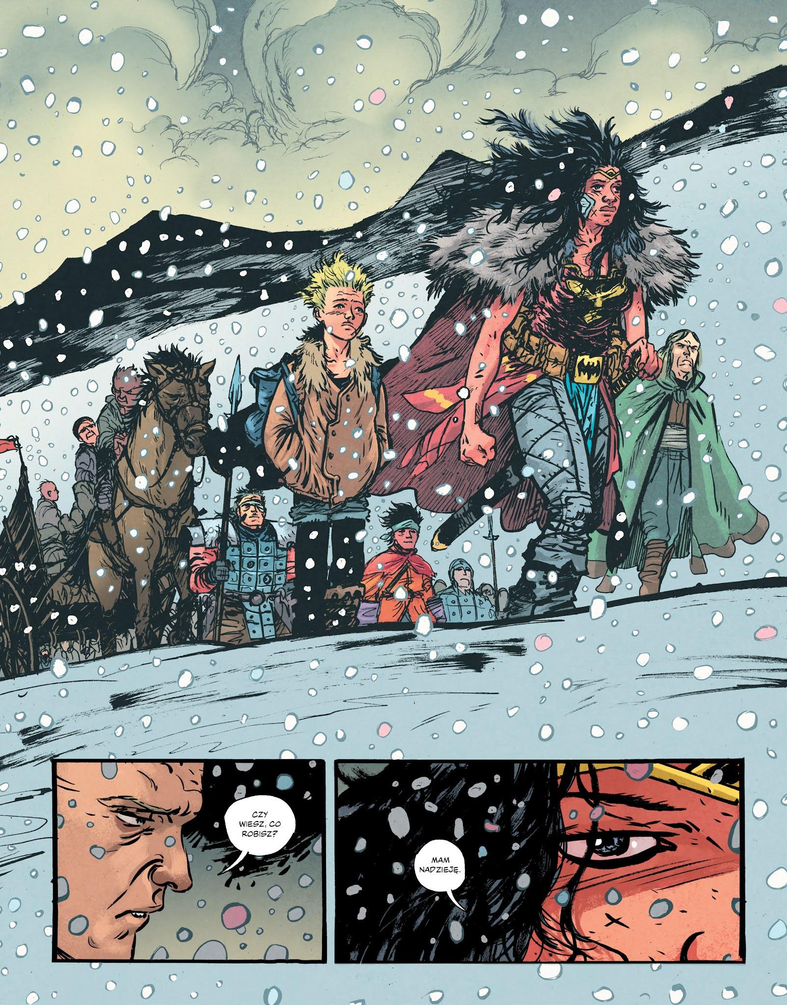 Wonder Woman Martwa Ziemia przykładowa strona