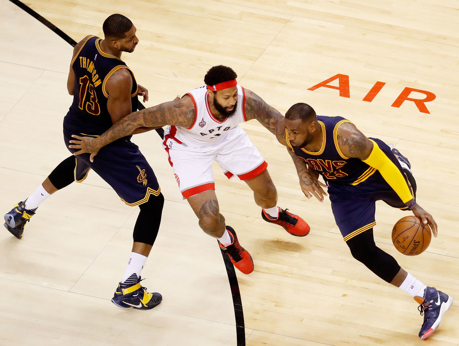 57aca4f608e The King Goes With Luxbron LeBron 13 s as Cavs Advance to NBA Finals ...