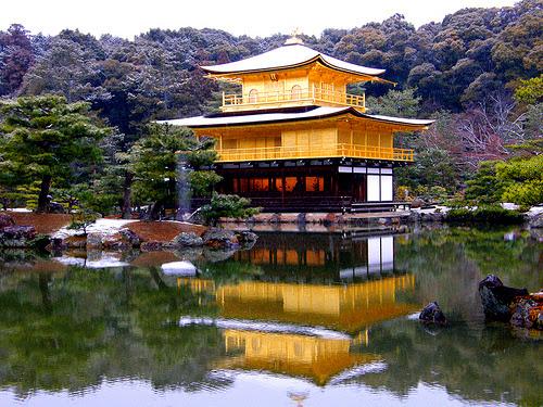 chùa vàng ở Nhật