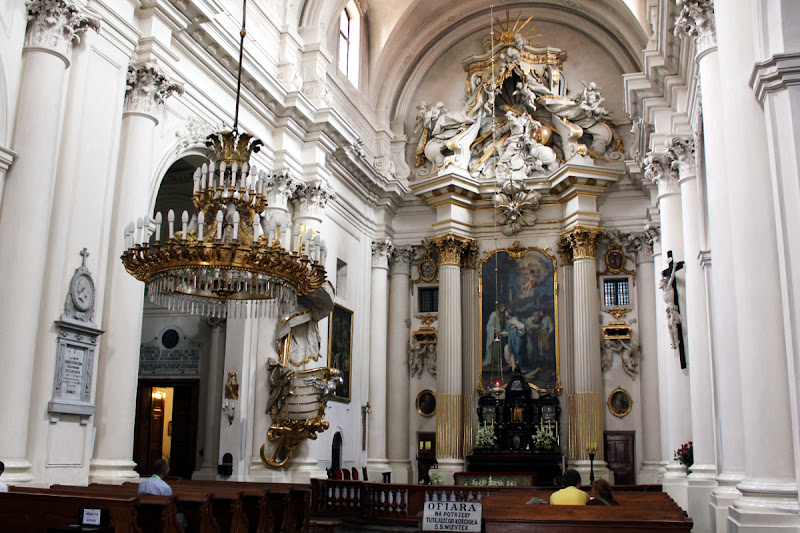 Interior de la Iglesia Visitacionista