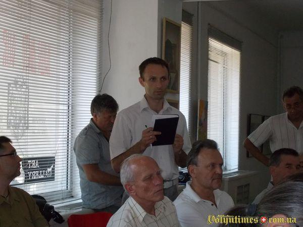 Виступ Юрія Войта, представника інвестора.