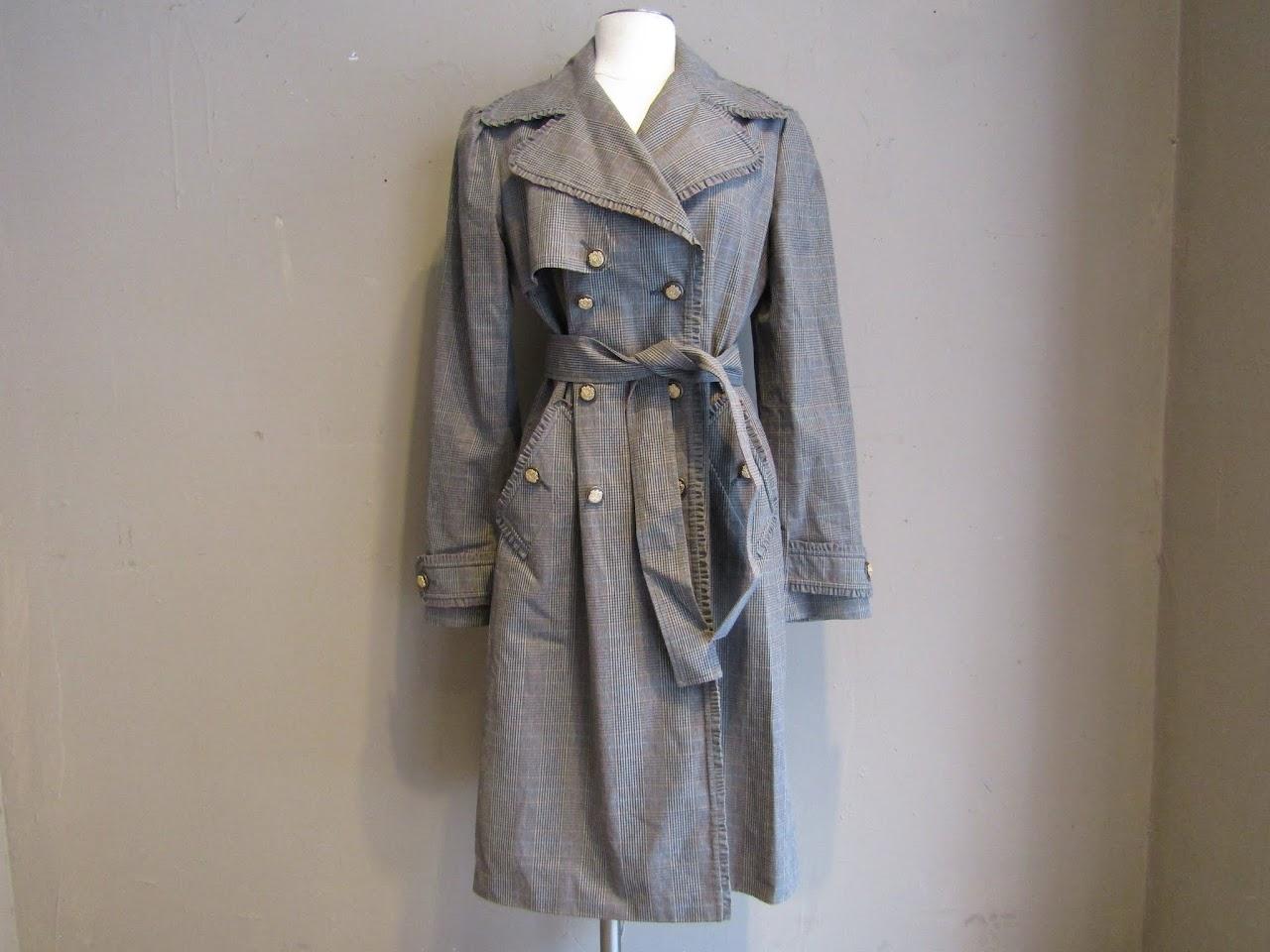 Dolce & Gabbana Plaid Coat