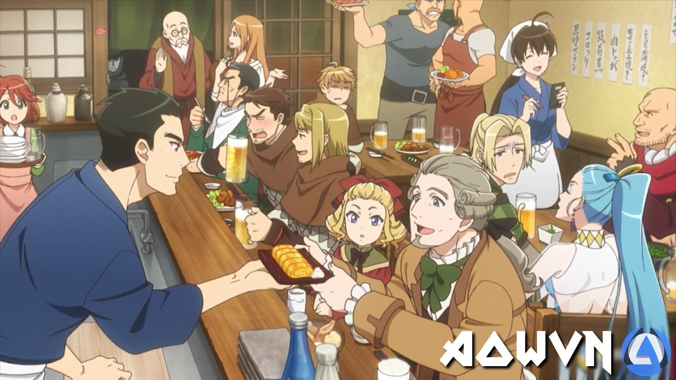 tvsAVZB - [ Anime 3gp Mp4 ] Isekai Izakaya- Koto Aitheria no Izakaya Nobu | Vietsub - Ẩm Thực Nhật Bổn