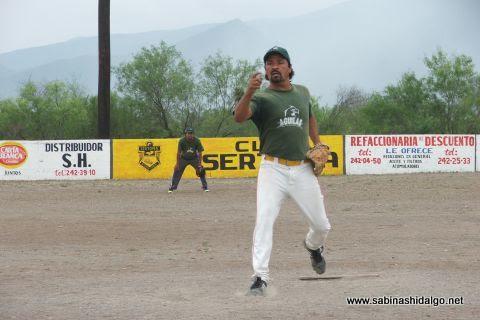 Ramón Leopoldo Alba de Águilas en el softbol del Club Sertoma
