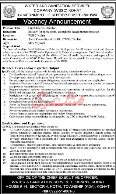 Water And Sanitation Services Company Jobs October 2020
