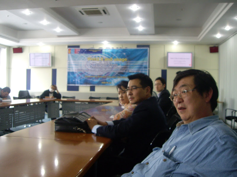2008-Web 2.0 technologies lecture through project supported by AEI
