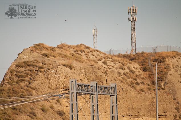 Espolón del cerro donde se asentó el poblado Carpetano de La Gavia. En la actualidad muy desfigurado por las distintas actuaciones del MIFO para las distintas líneas de Alta Velocidad.