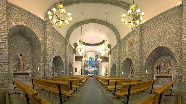 Iglesia parroquial de Santa María la Mayor de Benasque. - Manuel Bernal -  Fotografía de Naturaleza