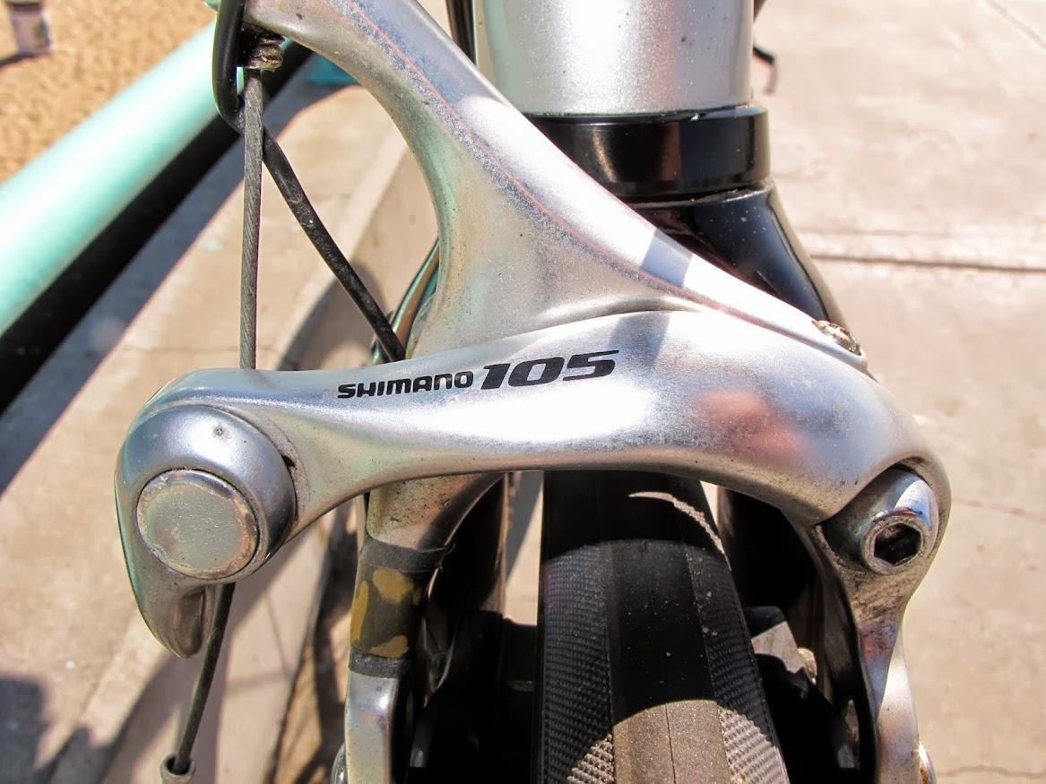 Silver Specialized 54cm Allez Elite Shimano 105 Carbon 27 Speed Triple Colombus