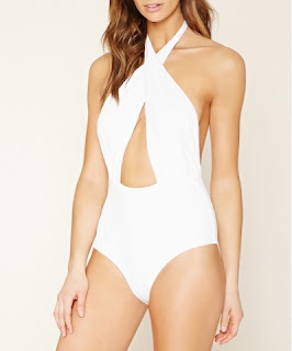 Look for Less: Emily Ratajkowski in Del Mar Alayna Maillot Swimsuit