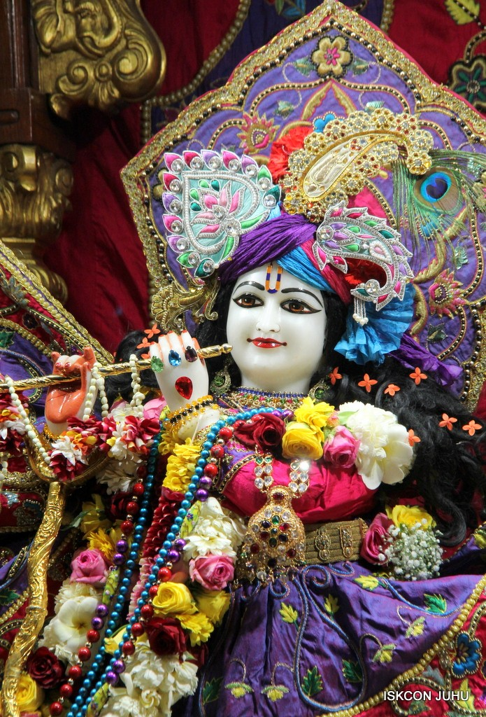 ISKCON Juhu Sringar Deity Darshan 20 Jan 2017 (15)