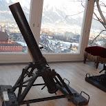 morter launcher in Innsbruck, Tirol, Austria