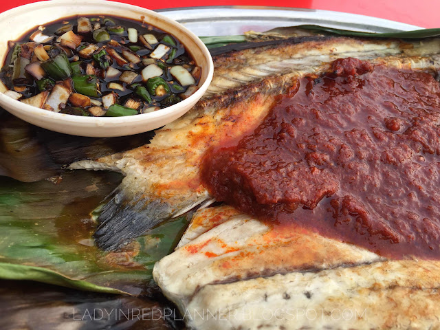 Ikan bakar sambal