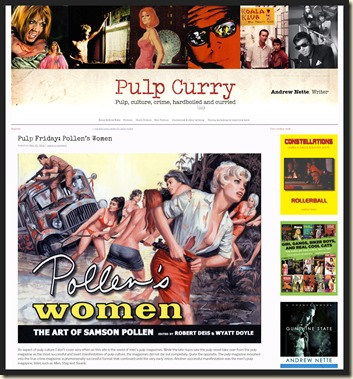 Andrew Nette's Pulp Curry blog