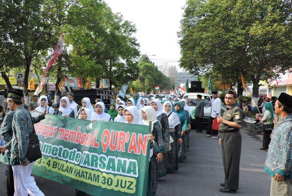 Dengan HSN, diharap para santri yang belajar di pondok pesantren untuk turut memajukan bangsa Indonesia melalui pendidikan agama Islam