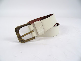 G-Star Raw White Leather Belt