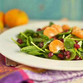 Spinach Salad with Tangerine Vinaigrette