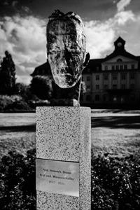 Heinrich-Braun-Büste im HBK