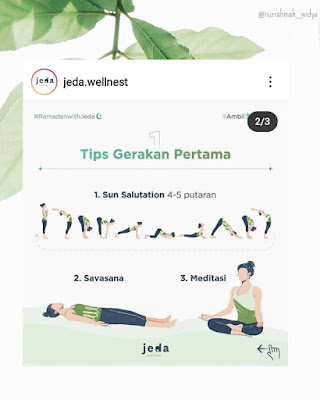 gerakan yoga saat puasa