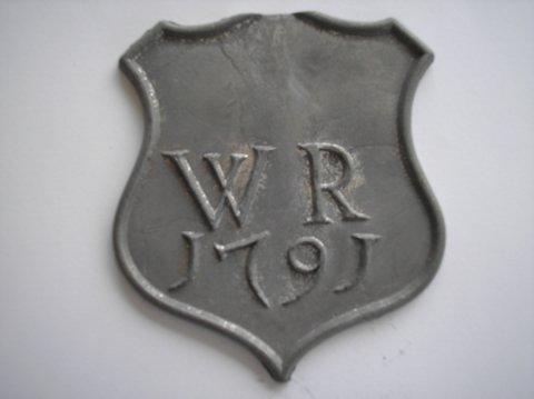 Naam: Willem RoegholtPlaats: GroningenJaartal: 1791Vindplaats: Restauratie Koepelkerk Sappemeer 1964