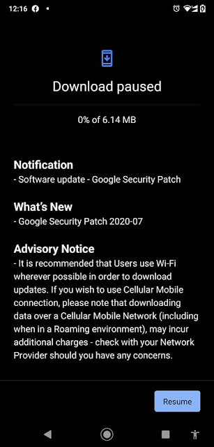 Nokia 8.1 receiving July 2020 Android Security patch